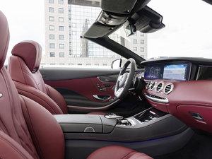2018款AMG S 63 4MATIC Cabriolet 空间座椅
