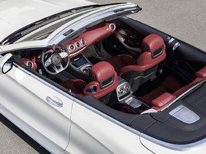 2018款AMG S 63 4MATIC Cabriolet 中控区