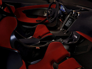 2018款3.8T Coupe 中控区