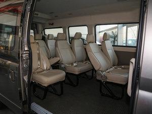 2016款2.5T AMT商杰长轴中顶15座 国IV 后排座椅