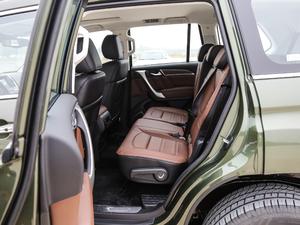 2017款2.0T 自动豪华型 7座 柴油 后排空间