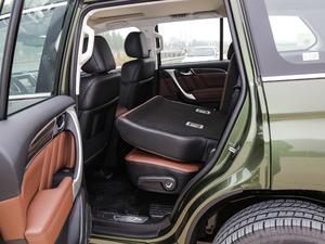2017款2.0T 自动豪华型 7座 柴油 后排座椅放倒
