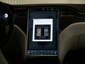 2016款90D 中控台显示屏