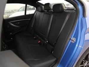 2019款320i M 运动套装 后排座椅