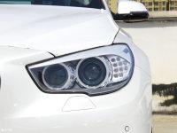 细节外观宝马5系GT头灯