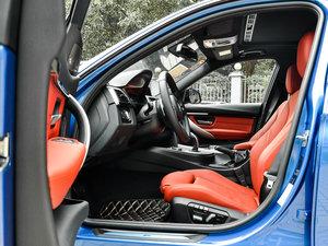 2017款330i M运动型 前排空间
