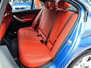 2017款330i M运动型 后排座椅