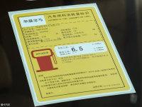其它宝马5系工信部油耗标示