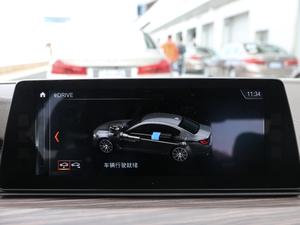 2018款530Le 豪华套装 中控台显示屏