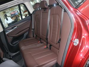 2018款xDrive 30i 领先型M运动套装 后排座椅