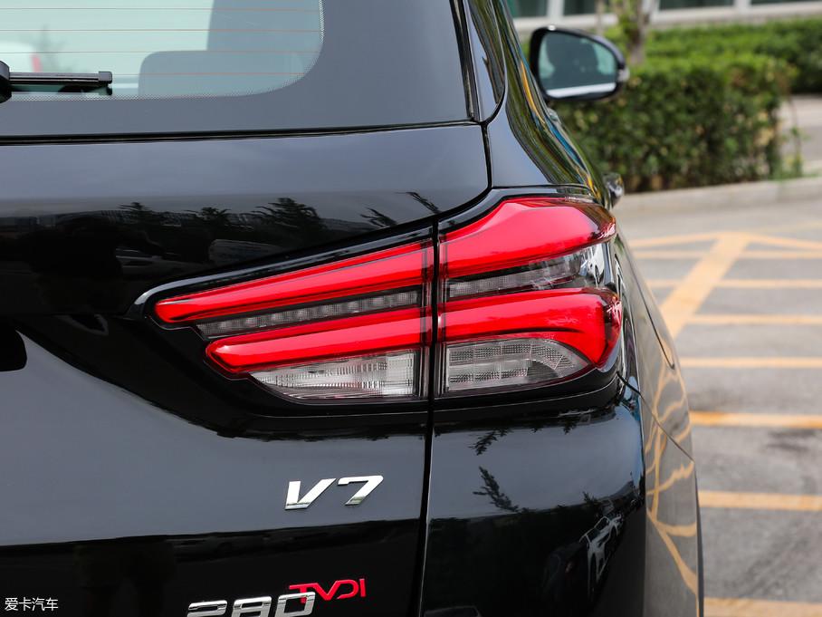 2018款中华V7280T 自动旗舰型 5座