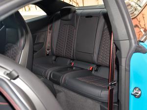 2019款2.9T Coupe 后排座椅