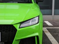 细节外观奥迪TT RS 头灯