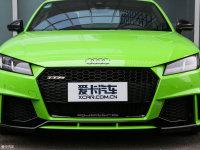 细节外观奥迪TT RS 中网