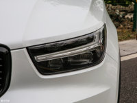 細節外觀沃爾沃XC40頭燈