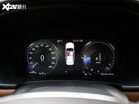 中控区沃尔沃S90混动仪表