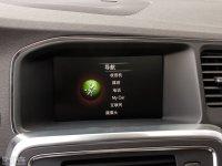 中控区沃尔沃S60L混动中控台显示屏