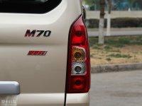 細節外觀啟騰M70尾燈