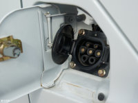 细节外观威途Z35油箱盖打开