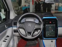 中控区北汽EV300方向盘