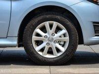 细节外观北汽E150 EV轮胎