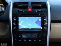 中控区北汽E150 EV中控台显示屏