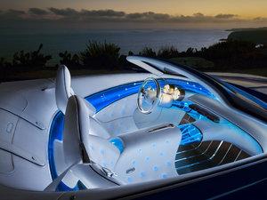 2017款敞篷 概念车 空间座椅