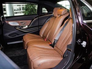 2018款S 450 4MATIC 后排座椅