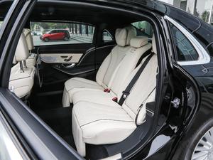 2019款S 450 4MATIC 后排座椅