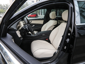 2019款S 450 4MATIC 前排座椅