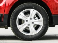 细节外观广汽中兴GX3轮胎