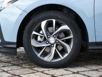 細節外觀微藍輪胎