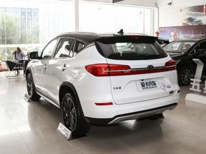 2019款EV 500 智联领耀型 后侧45度