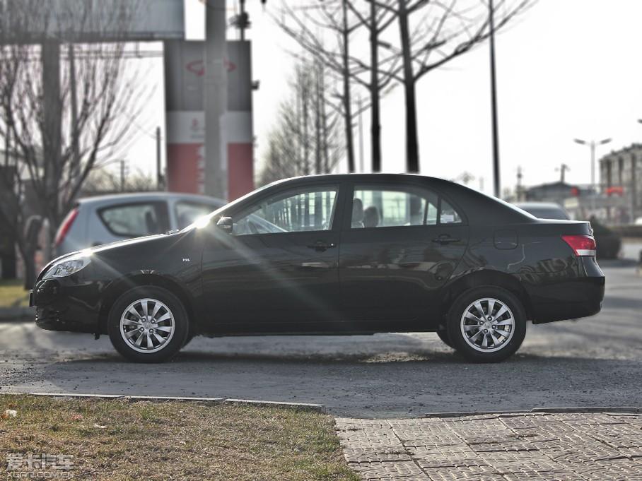 2012款比亚迪G3 纯侧