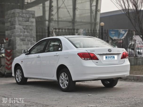 比亚迪汽车2012款比亚迪L3