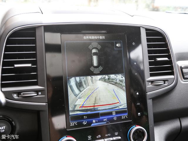 东风雷诺科雷傲 2.0L 两驱 豪华版车型配备倒车影像监视系统.-东风雷高清图片