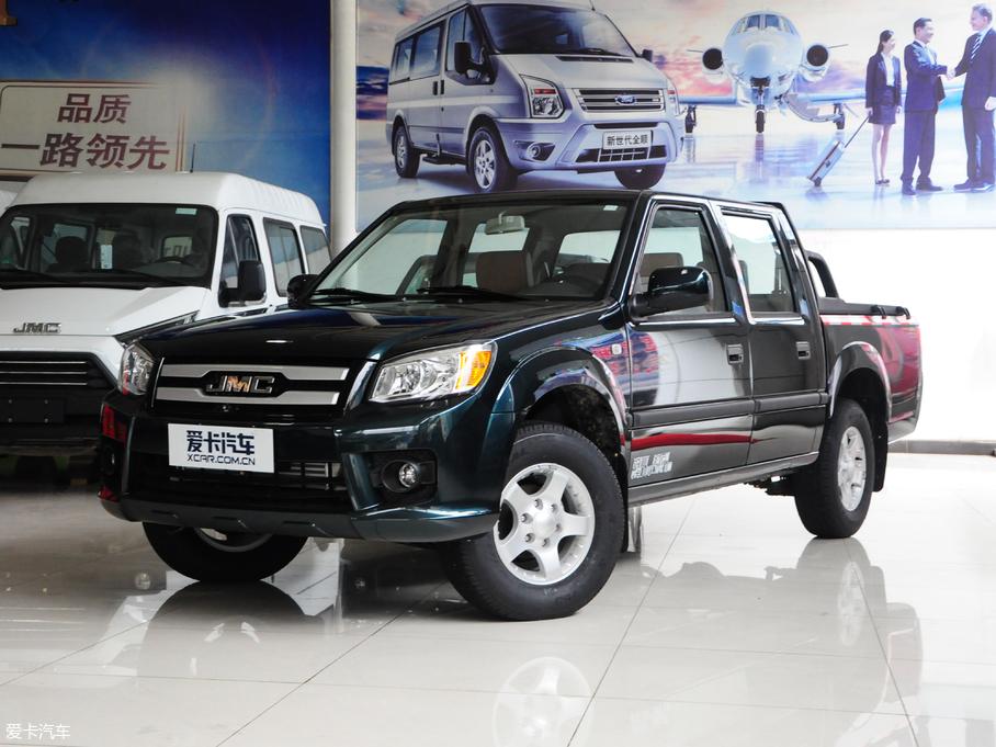 2016款宝典 2.8T 新超值柴油两驱标准货箱基本型JX493ZLQ4G