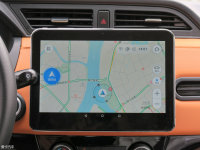 中控区电咖EV10中控台显示屏
