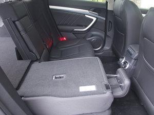 2017款VV7C 旗舰型 后排座椅放倒