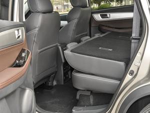 2018款1.5T CVT基本型 后排座椅放倒