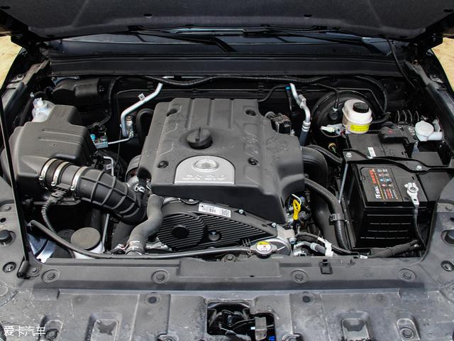 0l涡轮增压柴油直喷发动机,峰值功率可达95kw(129ps).