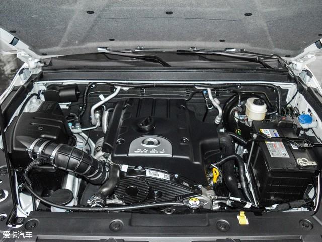 览众风骏C6采用的是2.0T柴油发动机,最大功率为110kW(149Ps),最大扭矩为315Nm。