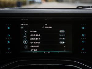 2017款引力版 中控台显示屏