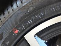 细节外观富康ES500轮胎尺寸