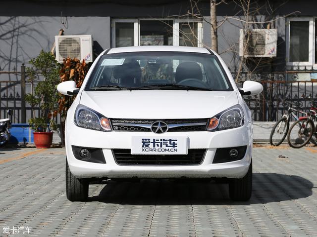 没有了时下电动汽车惯用的蓝色装饰,江淮iEV4显得更加质朴.-唯一高清图片