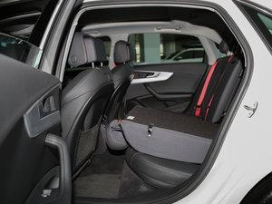 2017款45 TFSI quattro 特别版 后排座椅放倒