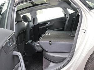 2017款45 TFSI quattro 风尚型 后排座椅放倒