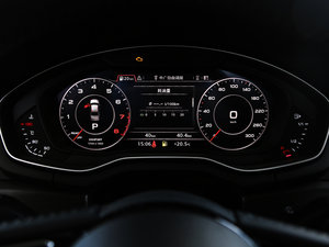 2017款Plus 45 TFSI quattro 风尚型 仪表