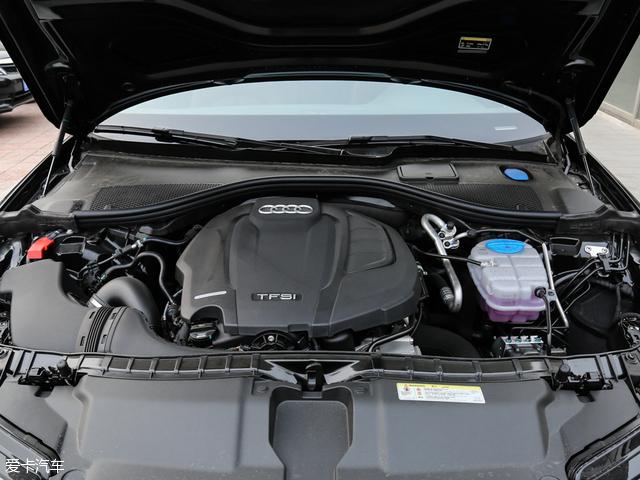 A6L搭载的1.8T发动机最大功率140kW(190Ps)/4200-6200rpm,最大扭矩320Nm/1400-4100rpm。