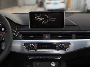 2018款30周年版 40 TFSI 运动型 中控台